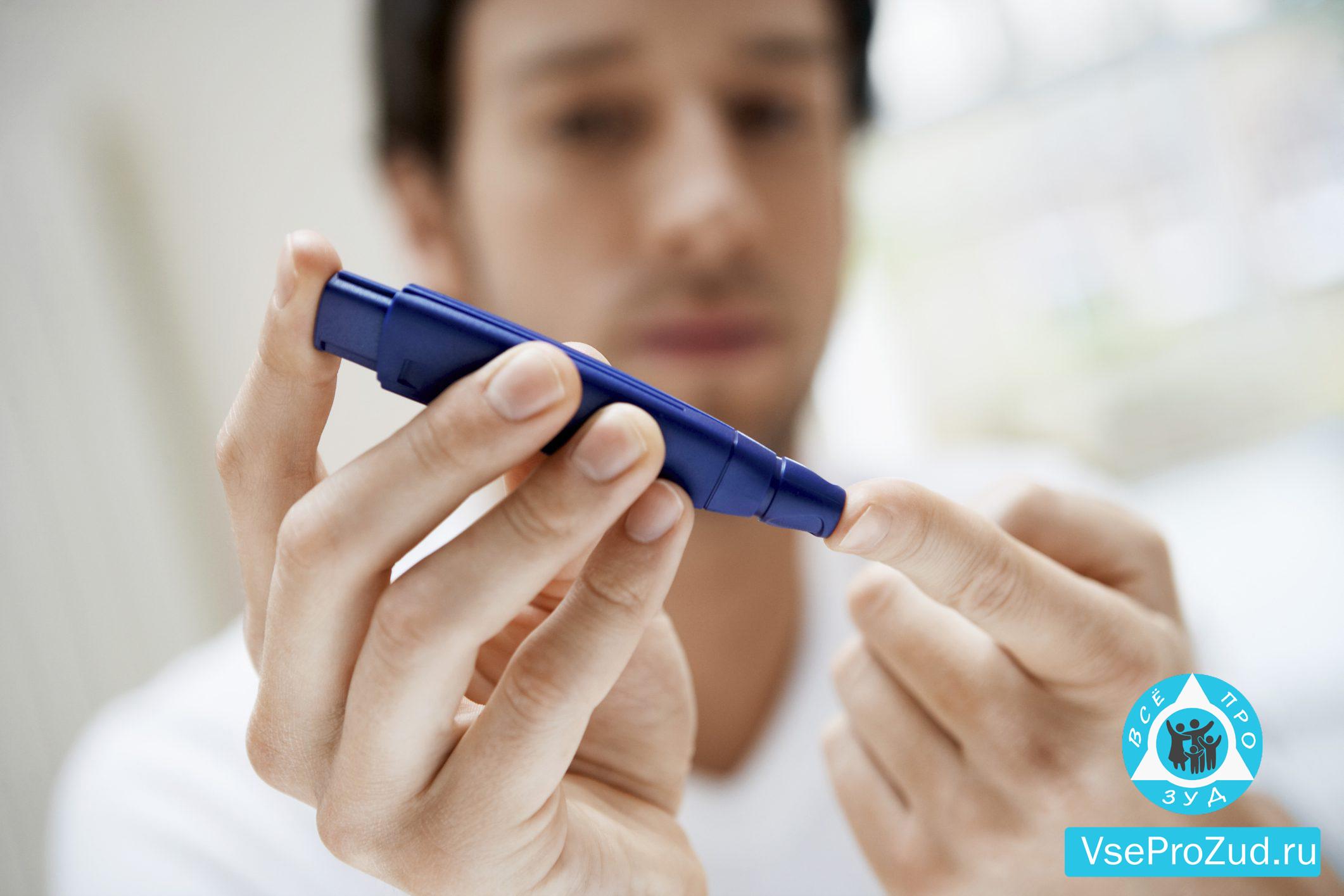 Зуд при диабете