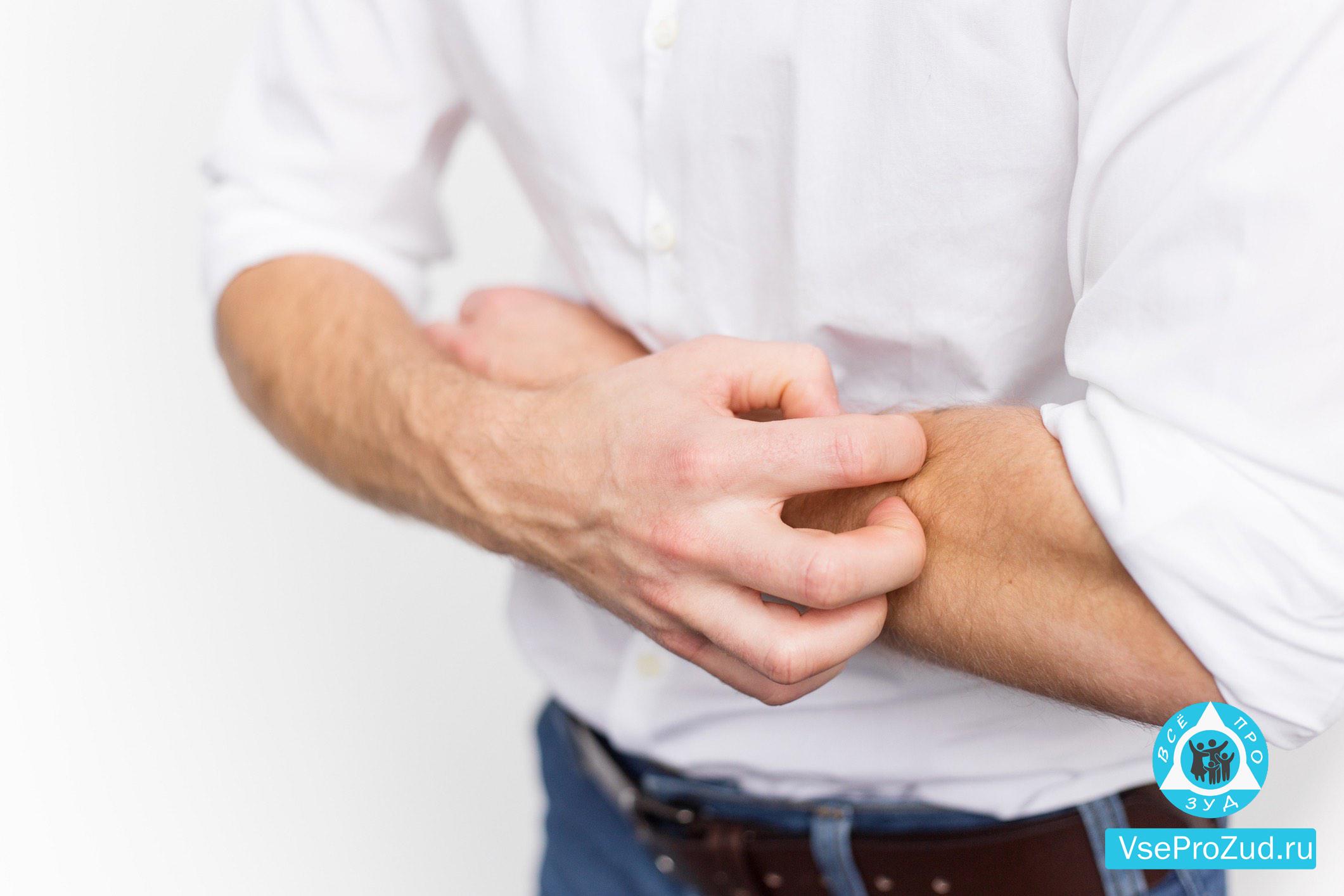 Зуд при диабете у мужчин