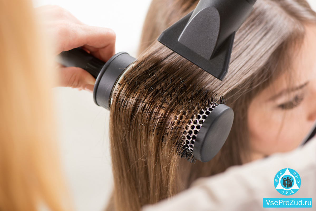 Сушка и укладка волос