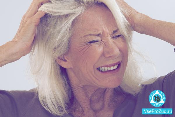 Осложниения при старческом зуде