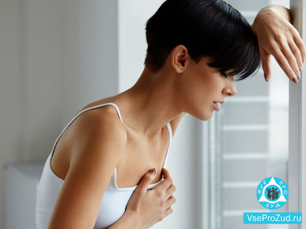 Зуд и боль в грудях