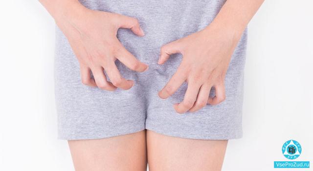 Зуд при диабете в интимной зоне