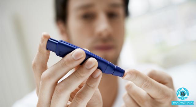 Зуд кожи при сахарном диабете
