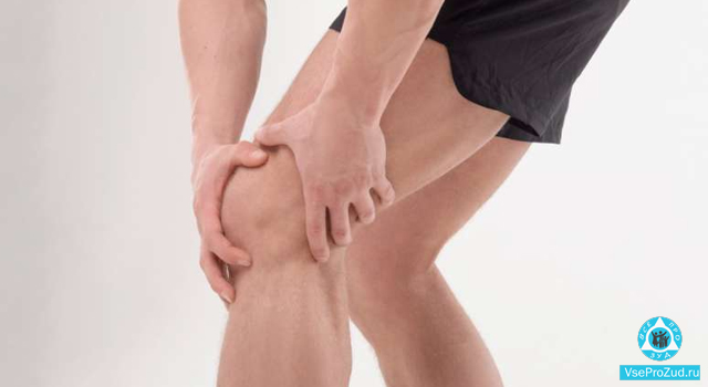 У мужчины зуд в районе сгиба колена
