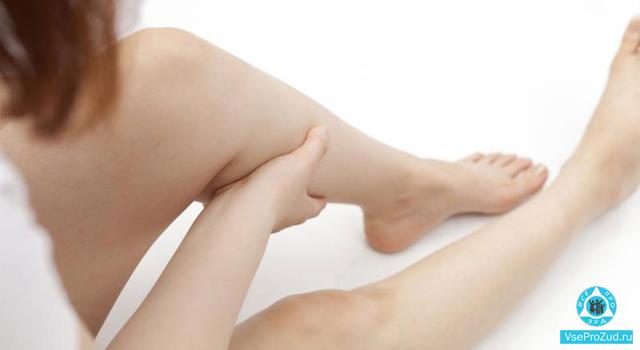 зуд вен на ногах при варикозе