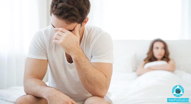 у мужчины зуд интимного характера после секса